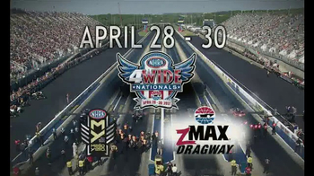 NHRA TV Spot, 'Spring, 4Wide & Southern Nationals' - Thumbnail 6