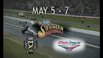 NHRA TV Spot, 'Spring, 4Wide & Southern Nationals' - Thumbnail 8