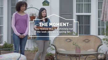 Lowe's Refresh Your Outdoors Event TV Spot, 'The Moment: Not the Look' - 570 commercial airings