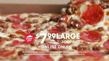 Pizza Hut $7.99 2-Topping TV Spot, 'Reorder' - Thumbnail 4