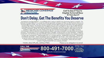 Medicare Coverage Helpline TV Spot, 'Accepting Calls' - Thumbnail 4