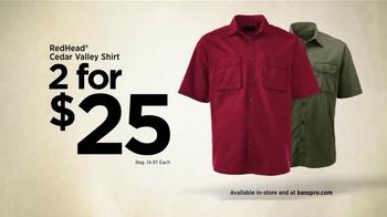 Bass Pro Shops TV Spot, 'Baitcast Reel and RedHead Shirt' - Thumbnail 6