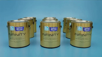 HGTV Home by Sherwin-Williams INFINITY TV Spot, 'One-Coat Coverage' - Thumbnail 1
