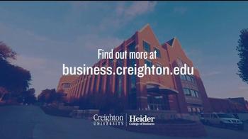 Creighton University Heider College of Business TV Spot, 'Opportunities' - Thumbnail 9