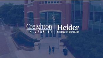 Creighton University Heider College of Business TV Spot, 'Opportunities' - Thumbnail 1