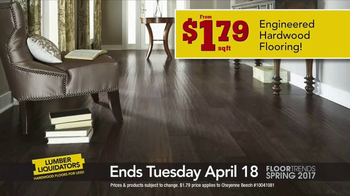 Lumber Liquidators TV Spot, 'Spring 2017 Floor Trends: Hardwood and Bamboo' - Thumbnail 4