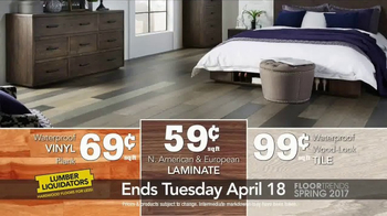 Lumber Liquidators TV Spot, 'Spring 2017 Floor Trends: Hardwood and Bamboo' - Thumbnail 9
