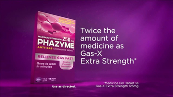 Phazyme Maximum Strength Fast Gels TV Spot, 'Twice the Amount' - Thumbnail 7