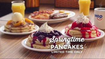 IHOP Springtime Pancakes TV Spot, 'Have a Fling This Spring'