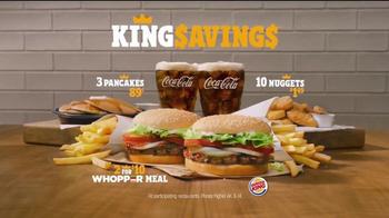 Burger King Savings TV Spot, 'Deal Time' - Thumbnail 6