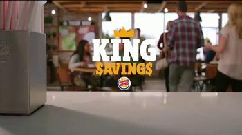 Burger King Savings TV Spot, 'Deal Time' - Thumbnail 1