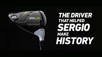 TaylorMade M2 TV Spot, 'M2sters Champion' Featuring Sergio Garcia - Thumbnail 8