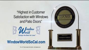 Window World TV Spot, 'Customer Satisfaction' - Thumbnail 3