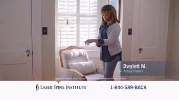 Laser Spine Institute TV Spot, 'Dwylett Stand Tall' - Thumbnail 7