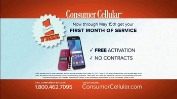 Consumer Cellular TV Spot, 'Change Is Easy: First Month Free: Plans $10+ a Month' - Thumbnail 9