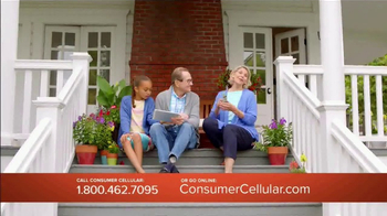 Consumer Cellular TV Spot, 'Change Is Easy: First Month Free: Plans $10+ a Month' - Thumbnail 3
