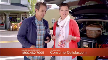 Consumer Cellular TV Spot, 'Change Is Easy: First Month Free: Plans $10+ a Month' - Thumbnail 4