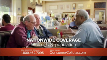 Consumer Cellular TV Spot, 'Change Is Easy: First Month Free: Plans $10+ a Month' - Thumbnail 5