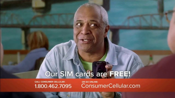 Consumer Cellular TV Spot, 'Change Is Easy: First Month Free: Plans $10+ a Month' - Thumbnail 6