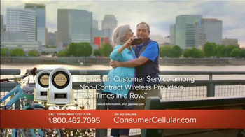 Consumer Cellular TV Spot, 'Change Is Easy: First Month Free: Plans $10+ a Month' - Thumbnail 7