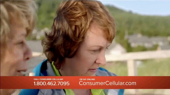 Consumer Cellular TV Spot, 'Change Is Easy: First Month Free: Plans $10+ a Month' - Thumbnail 8