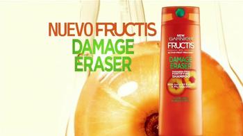 Garnier Fructis Damage Eraser TV Spot, 'Repara' canción de ZZ Top [Spanish] - Thumbnail 4