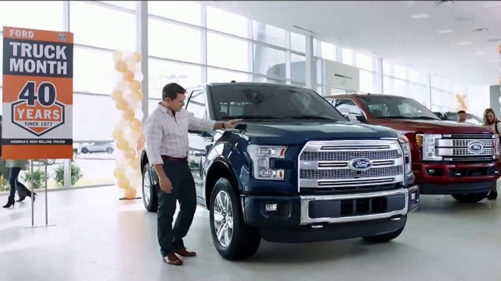 Ford Truck Month TV Commercial, 'Imagine: 2017 F-150 XLT' [T2] - iSpot.tv