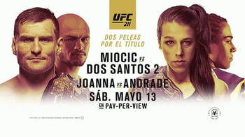 Pay-Per-View TV Spot, 'UFC 211: Miocic vs. Dos Santos' [Spanish] - 66 commercial airings