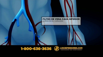 Los Defensores TV Spot, 'Filtro de vena cava inferior' [Spanish] - Thumbnail 4