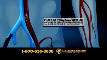 Los Defensores TV Spot, 'Filtro de vena cava inferior' [Spanish] - Thumbnail 5
