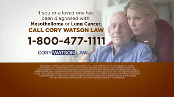 Cory Watson Law TV Spot, 'Mesothelioma and Lung Cancer Victims' - Thumbnail 7
