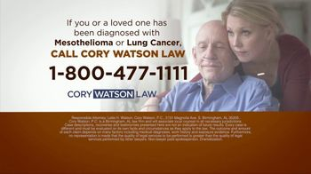 Cory Watson Law TV Spot, 'Lung Cancer Victims'