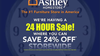 Ashley Homestore 24 Hour Sale TV Spot, 'Time Is Running Out' - Thumbnail 2