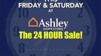 Ashley Homestore 24 Hour Sale TV Spot, 'Time Is Running Out' - Thumbnail 8