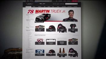 NASCAR Shop TV Spot, 'Martin Truex Jr.: Own a Piece of History' - Thumbnail 5