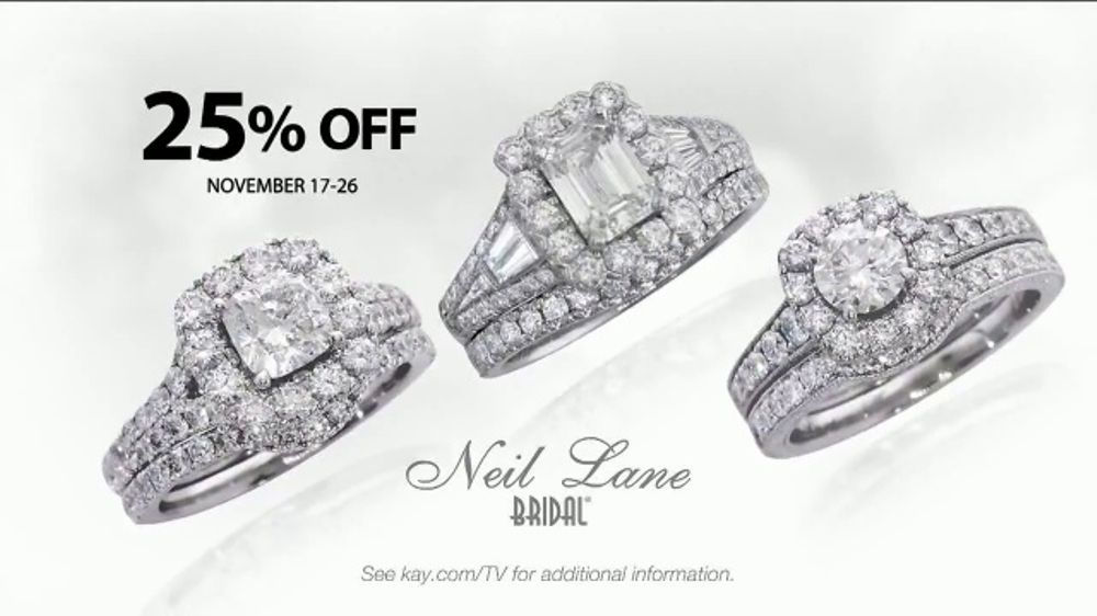 Kay Jewelers Neil Lane Bridal Collection Tv Commercial