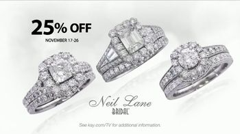Kay Jewelers Neil Lane Bridal Collection TV Spot, \'Star: November\'