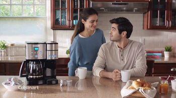 Cuisinart Coffee Center TV Spot, 'The Best of Both Worlds' - Thumbnail 10