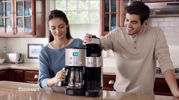 Cuisinart Coffee Center TV Spot, 'The Best of Both Worlds' - 1792 commercial airings