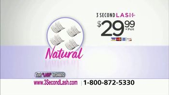 3 Second Lash TV Spot, 'A True Beauty Innovation' Featuring Taylor Baldwin - Thumbnail 8