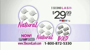 3 Second Lash TV Spot, 'A True Beauty Innovation' Featuring Taylor Baldwin - Thumbnail 9