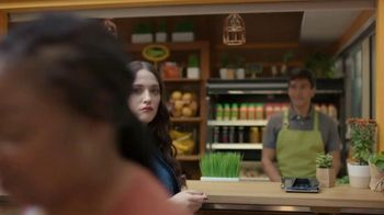 MasterCard MasterPass TV Spot, \'Pass\' Feat. Kat Dennings, Joe Montana