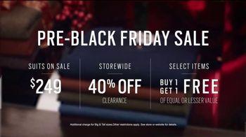 Men's Wearhouse Pre-Black Friday Sale TV Spot, 'The Gift He Needs' - Thumbnail 5
