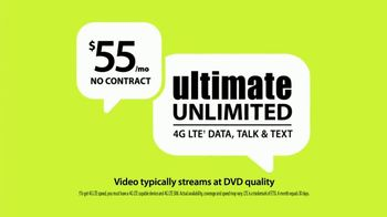 Straight Talk Wireless Ultimate Unlimited Plan TV Spot, 'Never Runs Out'