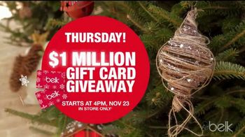 Belk Black Friday Sale TV Spot, 'Giveaways'