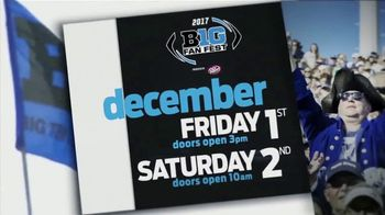 Big Ten Conference TV Spot, '2017 Big Ten Fan Fest' - 55 commercial airings