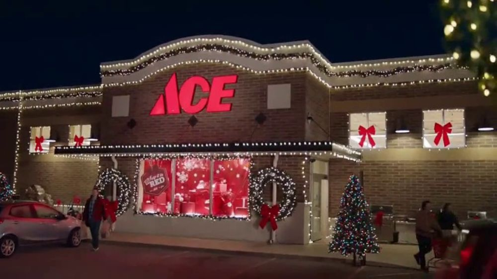 ace hardware black friday savings tv commercial christmas lights ispottv