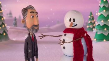Dish Network TV Spot, 'The Spokeslistener: Mister Snowman' - Thumbnail 7