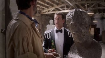 Dos Equis TV Spot, 'Most Interesting Fan: Sculpting' Featuring Rob Riggle - Thumbnail 4