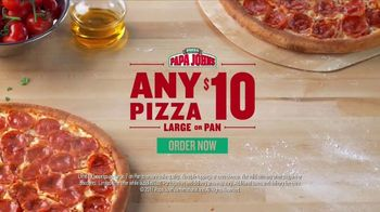 Papa John's TV Spot, 'Any $10' - 3464 commercial airings